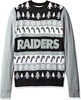 Amazoncom Oakland Raiders One Too Many Ugly Sweater Extra Large