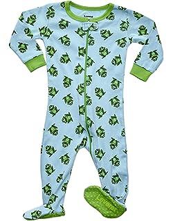 bf72ff3ac003 Amazon.com  Frogmouth Boys Footed Pajamas Shark Fish Sleeper 100 ...