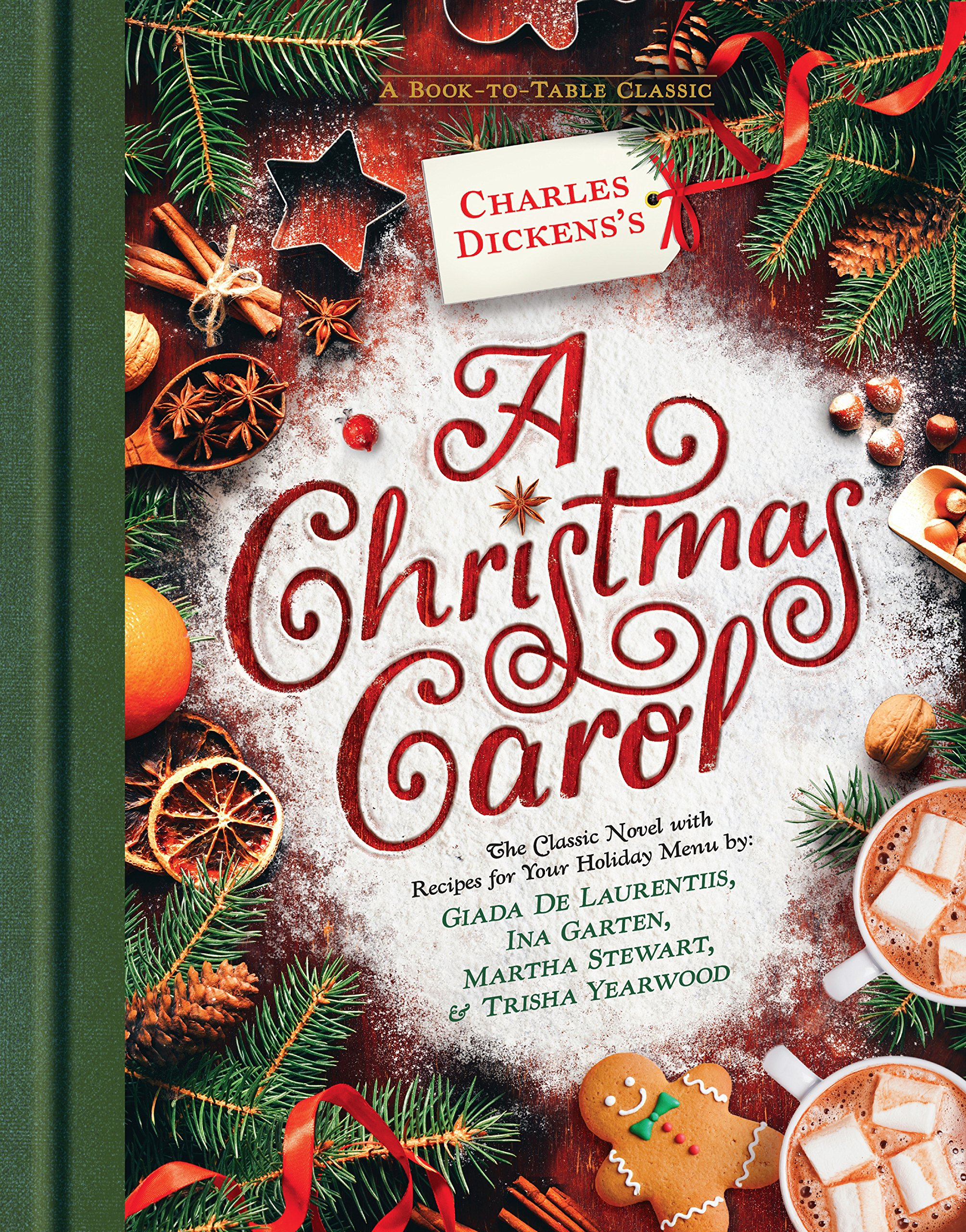 Charles Dickens's A Christmas Carol: A Book-to-Table Classic (Puffin Plated) Hardcover – October 16, 2018 Puffin Books 0451479920 Christmas; Fiction. Cookbooks.