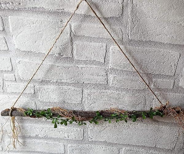 Turdeko Fensterdeko Fensterhanger Turhanger Braun Ca 45cm