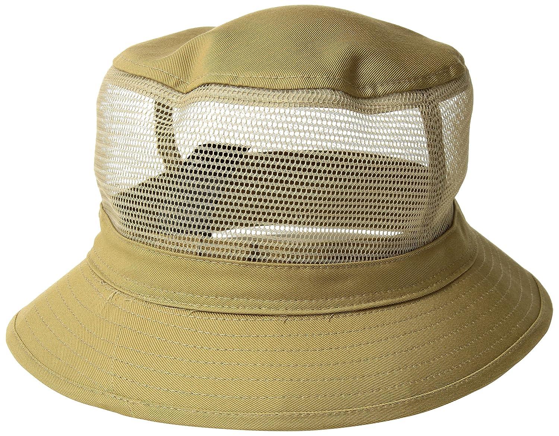 58afb533e Brixton Men's Hardy Short Brim Mesh Bucket Hat