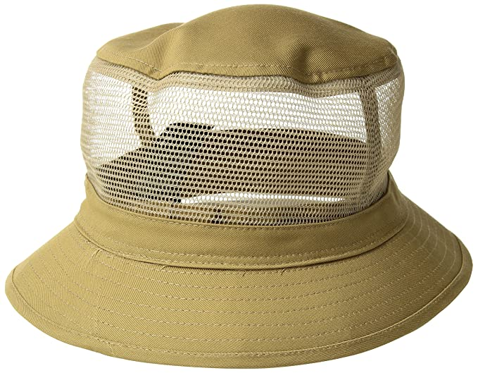 3cd5e5a2 Amazon.com: Brixton Men's Hardy Short Brim Mesh Bucket Hat: Clothing