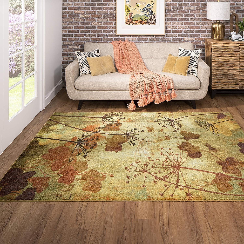 Mohawk Home Rust Autumn Branches Area Rug 3 X5 Z0197 A463 036060 Ec Furniture Decor