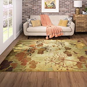 Mohawk Home Rust Autumn Branches Area Rug (5'x8') (Z0197 A463 060096 EC)