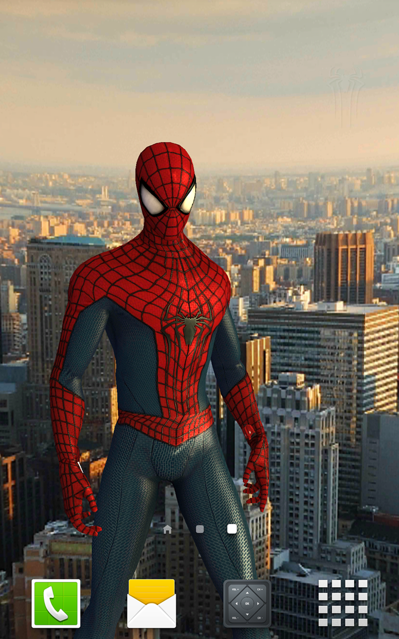 Amazon Com The Amazing Spider Man 2 Live Wallpaper Appstore For
