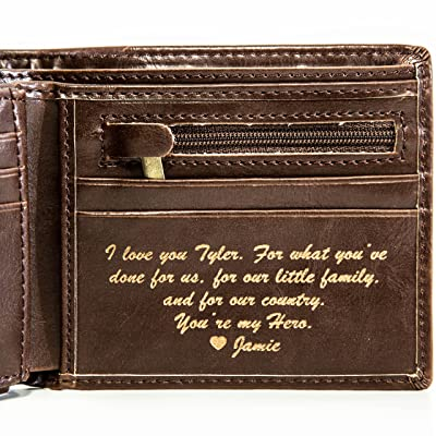 e85af93754004 Best Personalized Wallets For Men in 2019 To Give On Special ...