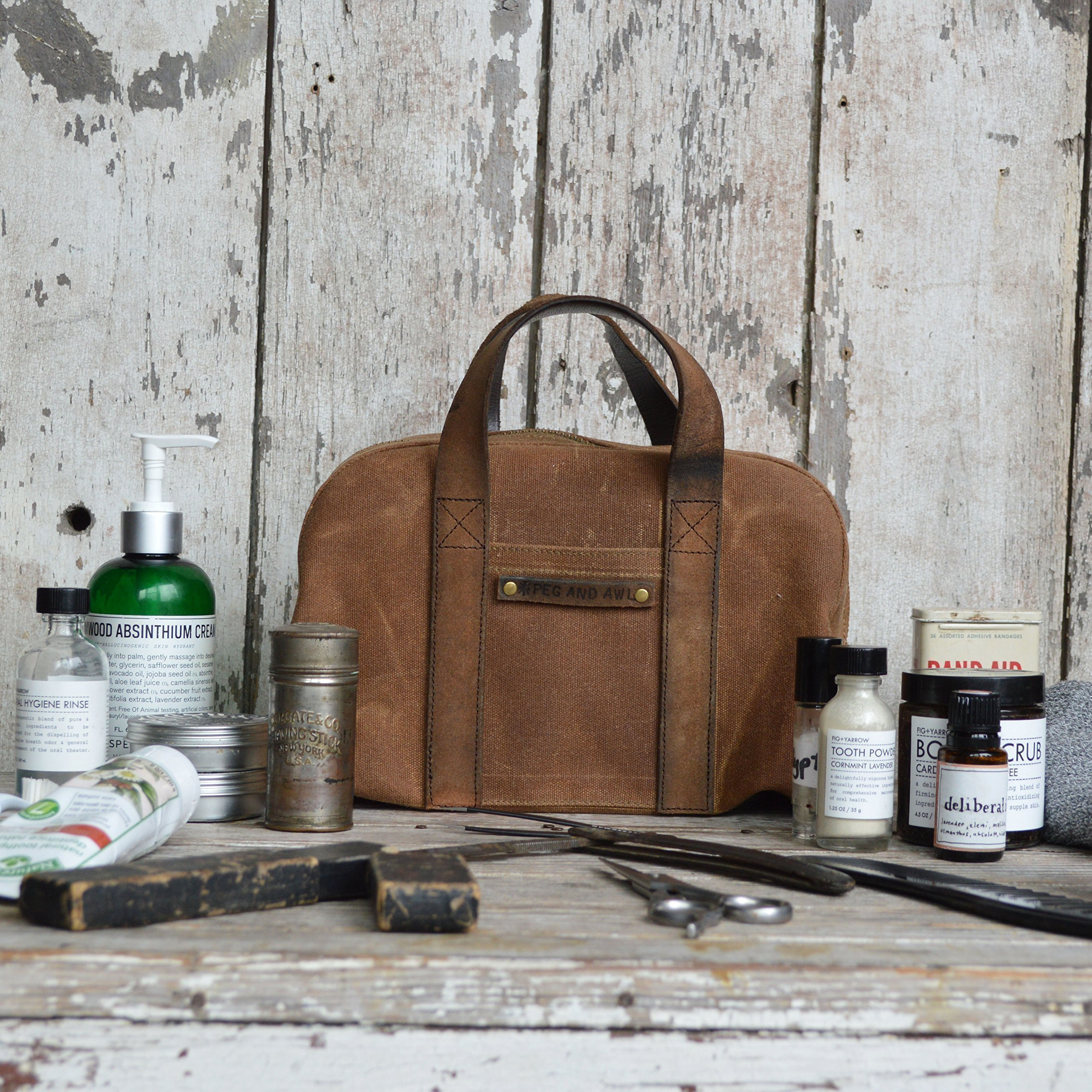Dopp Case by Peg and Awl