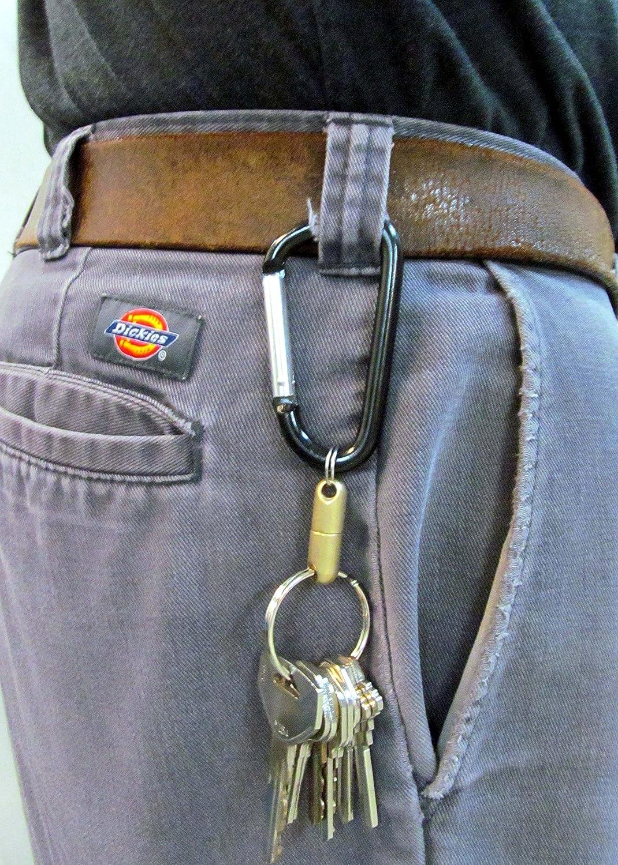 The Original Quick Release Detachable Keychain Magnet Brass Encased