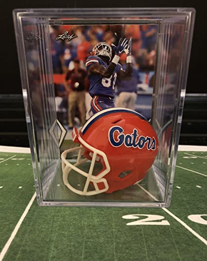 Amazon.com  Florida Gators NCAA Helmet Shadowbox w  Antonio Callaway ... bb0adaa1f