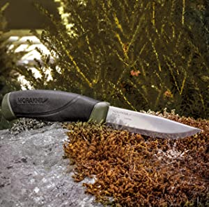 Morakniv Companion Fixed Blade Outdoor Knife with Carbon Steel Blade Review