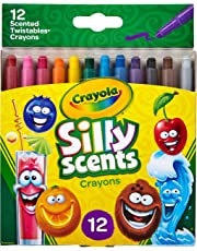 Crayola Silly Scents Twistables Crayons, Sweet Scented Crayons, Gift, 12 Count