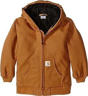 24ac6ae4999 Carhartt Big Boys  Washed Duck Bib Overall  Amazon.ca  Clothing ...