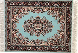 Inusitus Dollhouse Carpet - Dolls and Miniature House Rugs – 1/12 Scale Toys Furniture and Accessories Blue