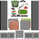Scrapbook Customs Themed Paper Scrapbook Kit, Track & Field Sport Paper