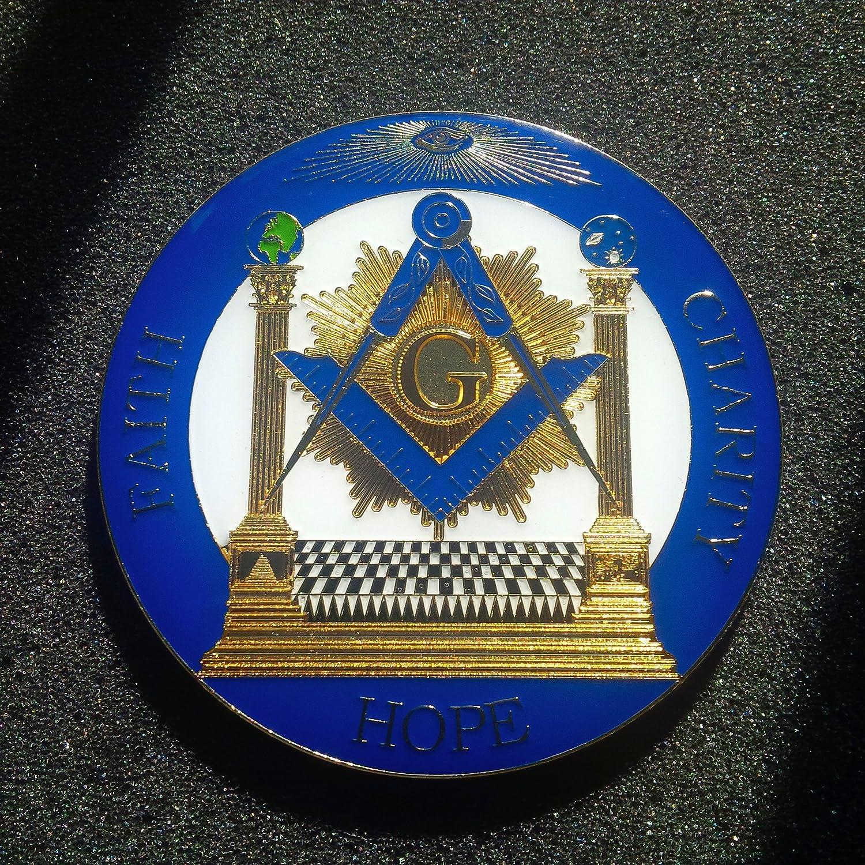 delux Heavy Alloy AF /& AM Cut Out Car Emblem
