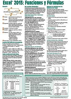 Microsoft Excel 2013 Funciones y Fórmulas Guía de referencia rápida (Hoja de referencia de 4