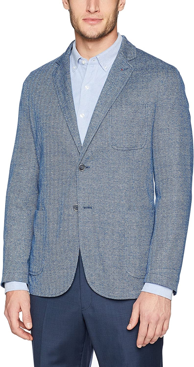 BUGATCHI Mens Two Button Unconstructed Single Breasted Sand Blazer