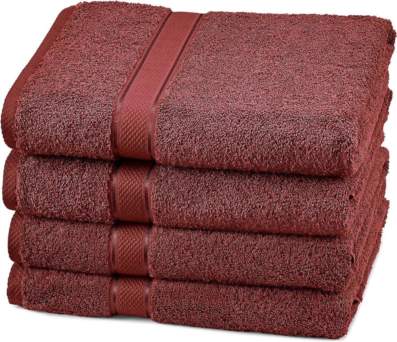 Toallas de baño de mezcla de algodón egipcio de Pinzon: Amazon.es ...