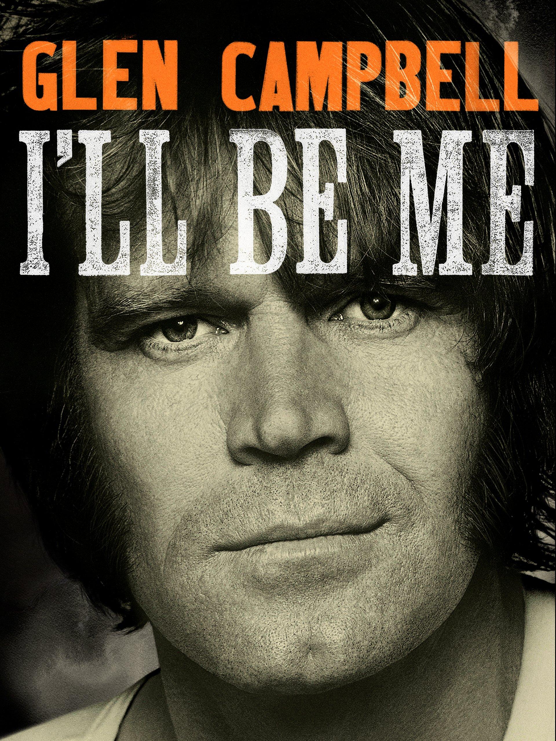 Glen Campbell I'll Be Me, portada del libro