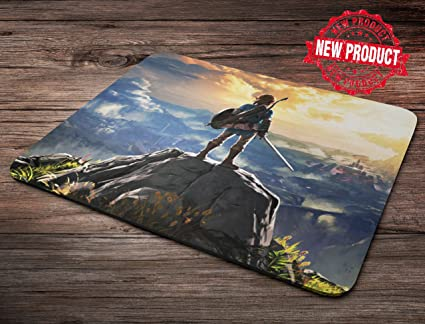 Legend of Zelda Breath Of The Wild Mouse Pad