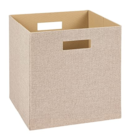 Superieur ClosetMaid 7114 Decorative Fabric Storage Bin, Tan
