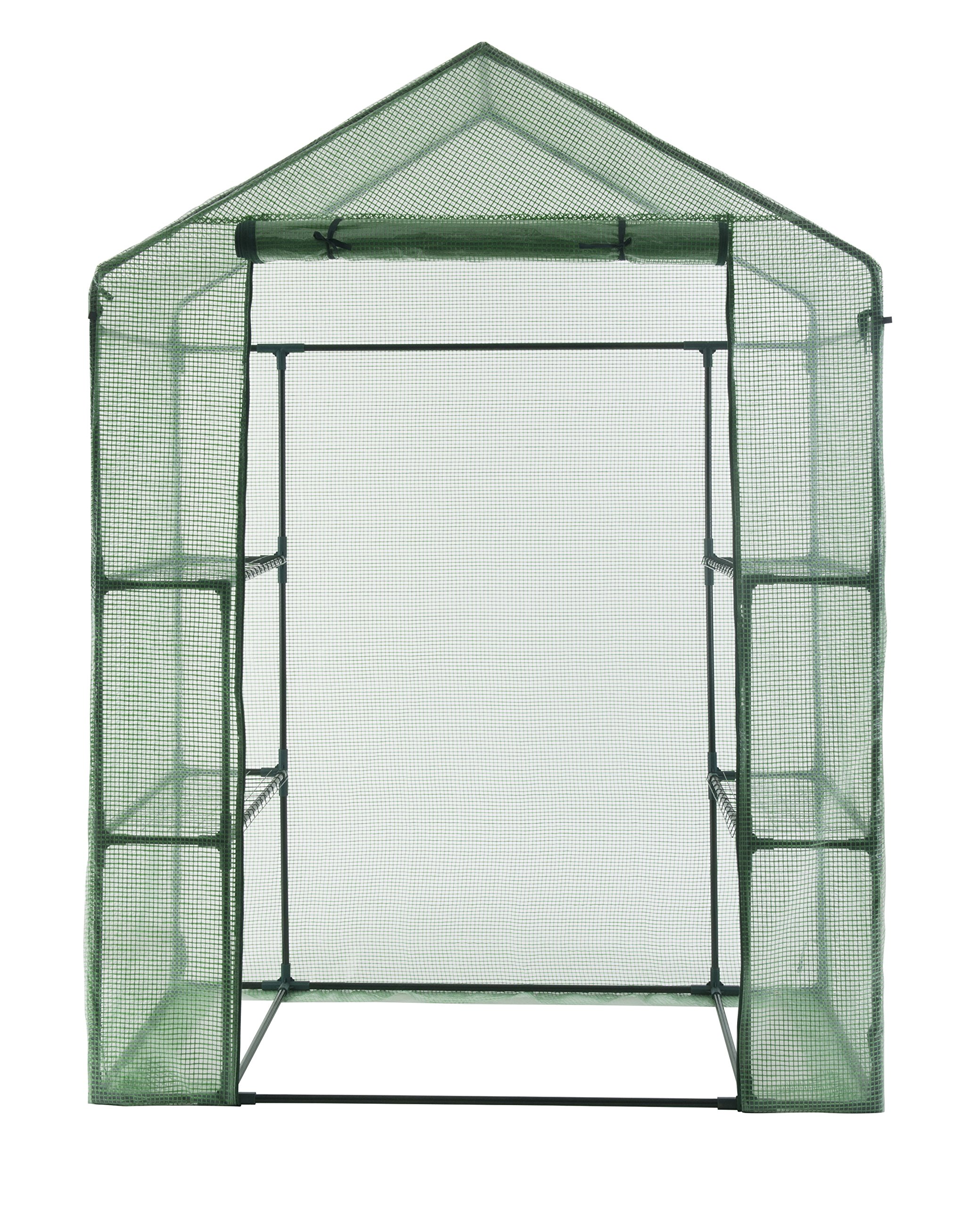 GOJOOASIS Walk in Portable Garden Greenhouse Mini Plants Shed Hot House with 3 Tiers by GOJOOASIS (Image #8)