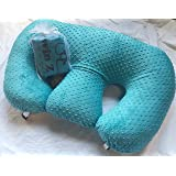 Twin Z Pillow + 1 Teal Cover + FREE Travel Bag!