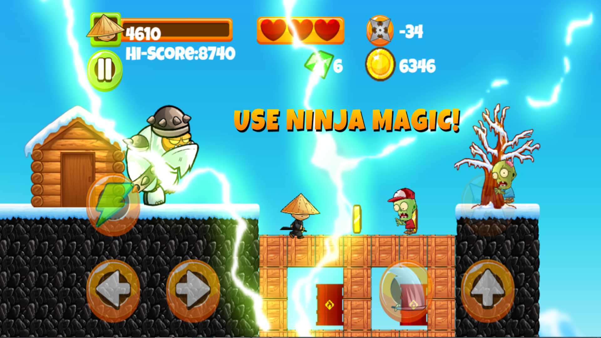 Ninja Kid Adventure World and Group Of Dumb Zombies!: Amazon ...