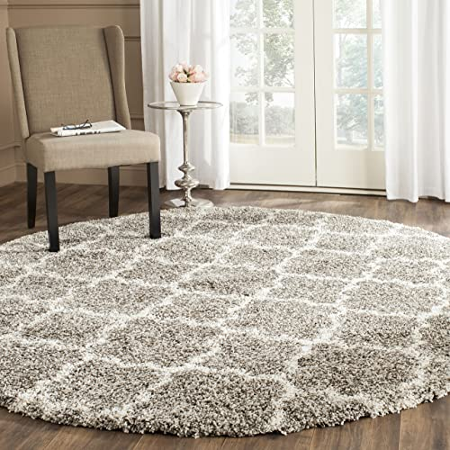 Safavieh Hudson Shag Collection SGH282B Moroccan Trellis 2-inch Thick Area Rug