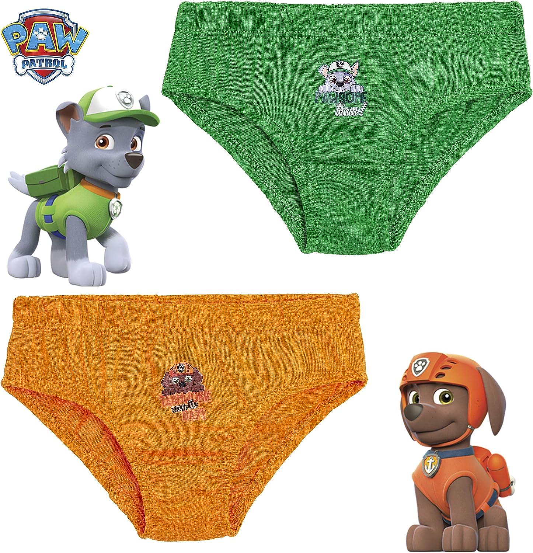 Abbigliamento Bambini 18 Mesi-7 Anni Paw Patrol Intimo Mutande Bambino Stampa Mighty Pups Idea Regalo Compleanno Confezione da 5 Slip Bimbo Intimo 100/% Cotone