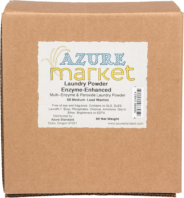 Azure Market Laundry Powder, Enzyme Enhanced - 8 lb