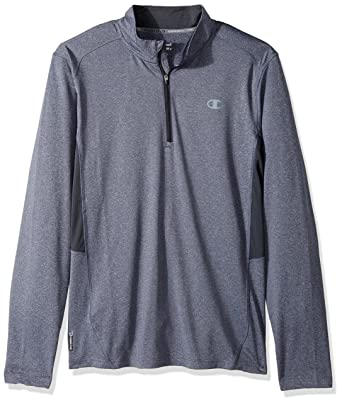 bc250a27 Champion Men's Core Training Quarter-Zip Pullover at Amazon Men's Clothing  store: