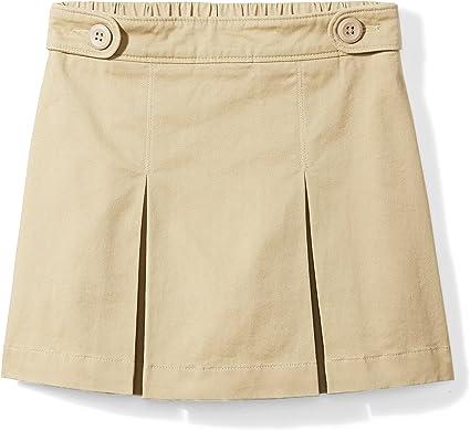 Amazon Essentials - Falda pantalón de uniforme para niña, Caqui ...