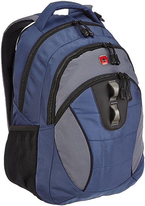 Wenger - Mochila, color negro y gris azul azul y gris Talla:48 cm