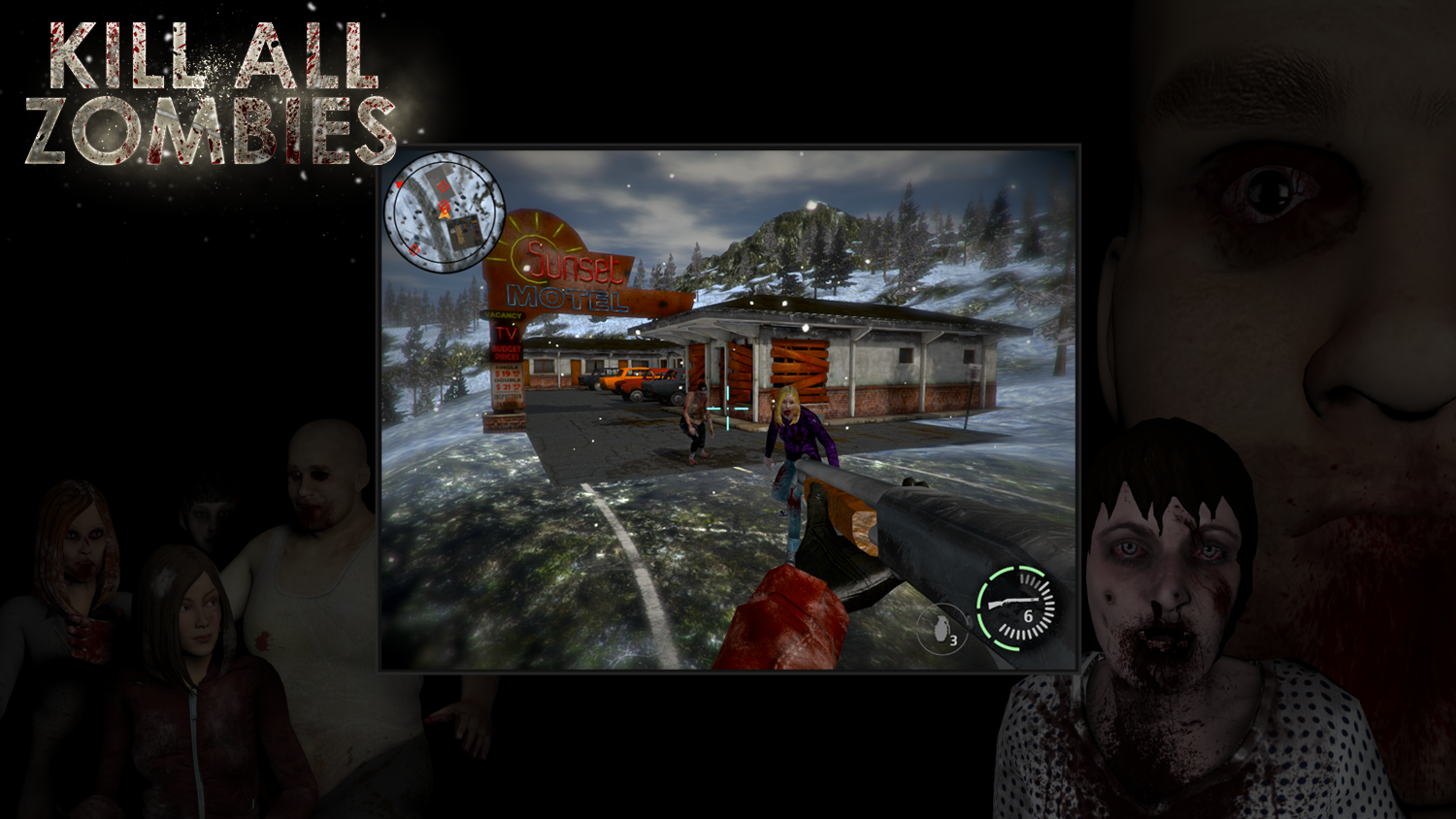 kill all zombies download