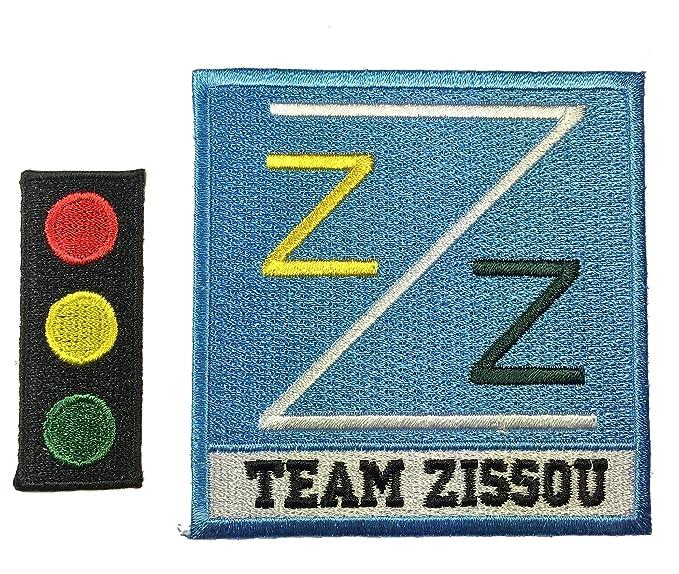 a87b02d0e9a Amazon.com  Patch Squad Men s Back Life Aquatic Team Zissou Logo ...