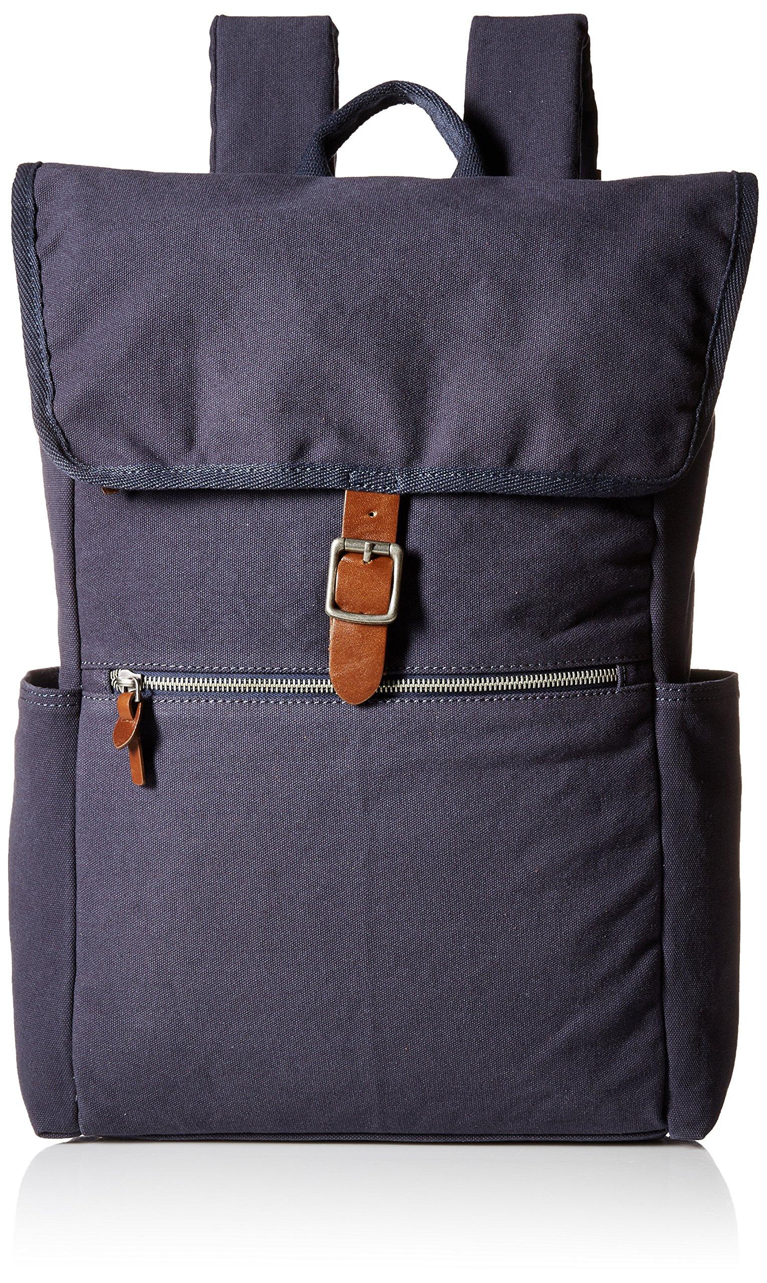 Alternative Men's Cotton Computer Backpack, Indigo