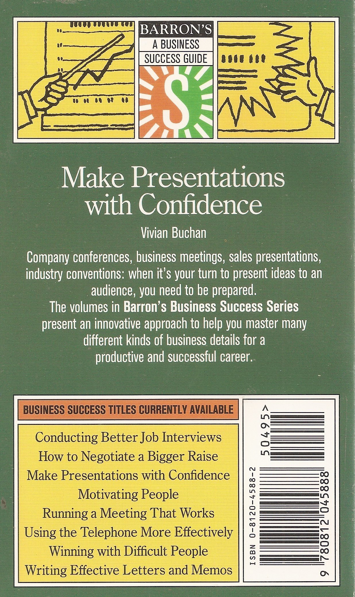 Using the Telephone More Effectively (Barrons Business Success Series)