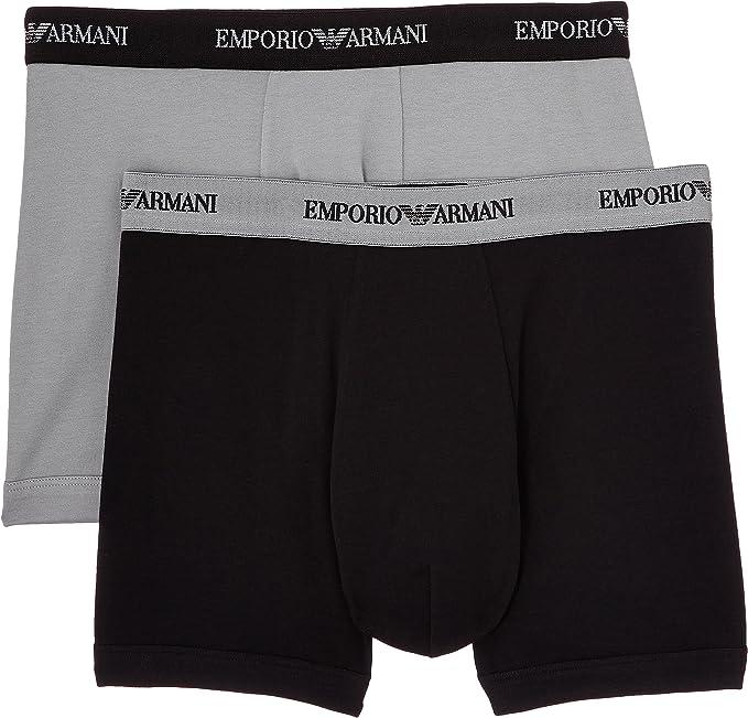 Emporio Armani Bóxer (Pack de 2) para Hombre: Amazon.es: Ropa y ...