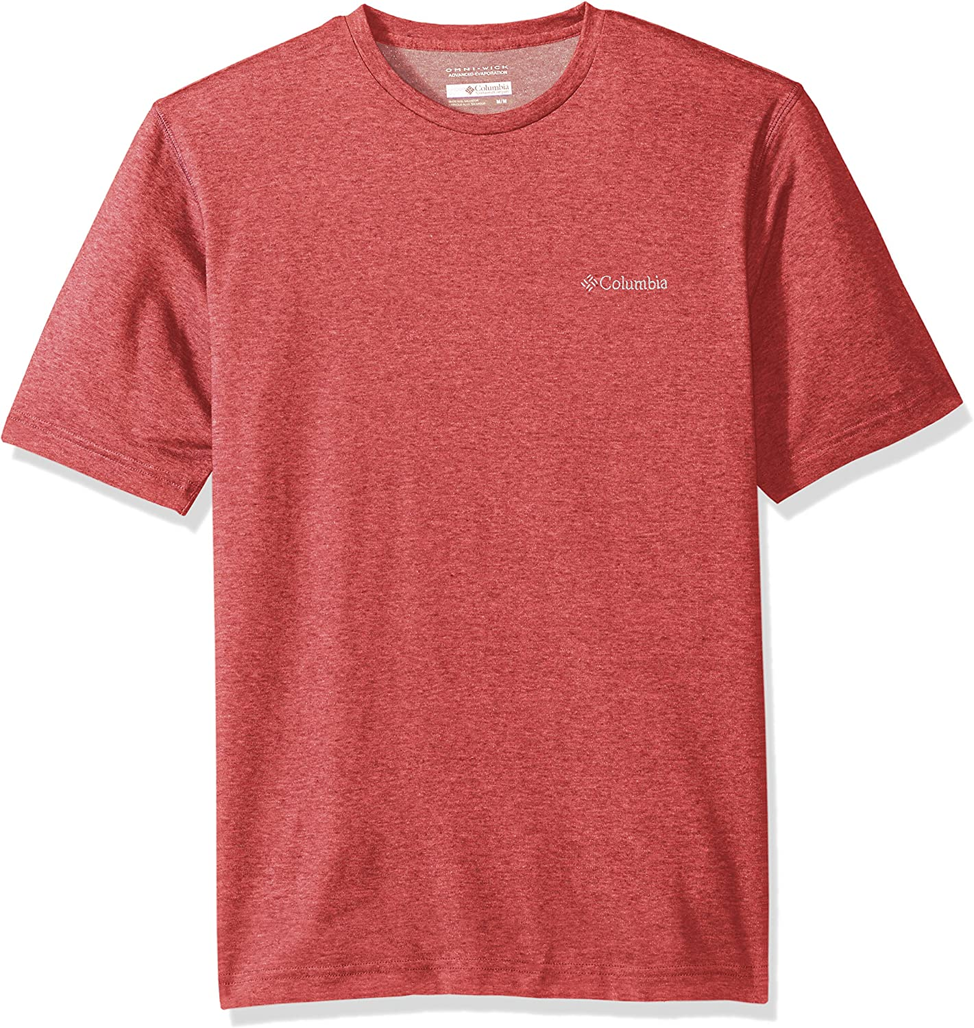 "New Mens Columbia /""Thistletown Park/"" Omni-Wick Short Sleeve Crew Neck Shirt Tee"