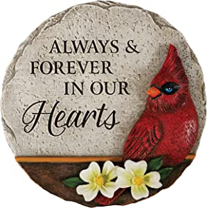 The Bridge Collection 'Forever in Our Hearts' Decorative Resin Garden Stone