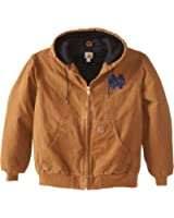 NCAA Notre Dame Fighting Irish Men's Quilted Flannel Lined Sandstone Active Jacket