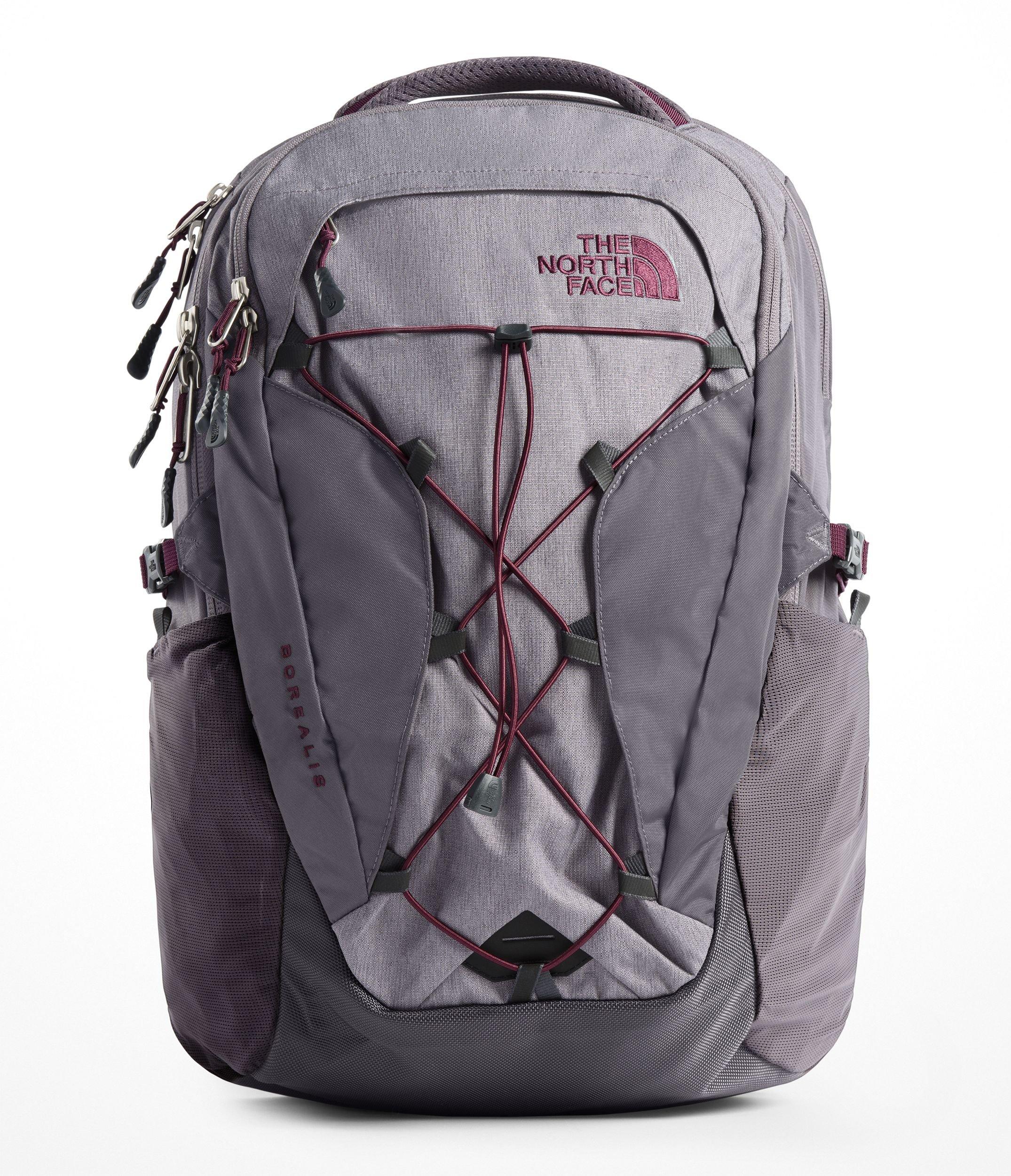 The North Face Women's Borealis Backpack - Rabbit Grey Light Heather & Rabbit Grey - OS