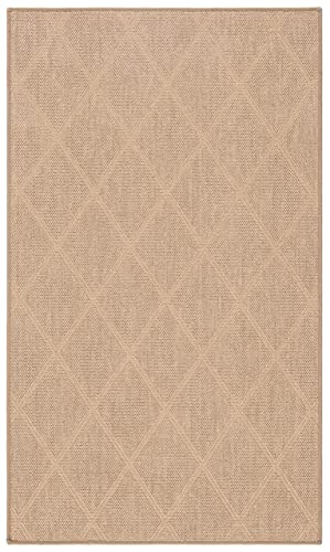 Safavieh Palm Beach Collection PAB514A Hand Woven Seagrass Jute Area Rug 3 x 5