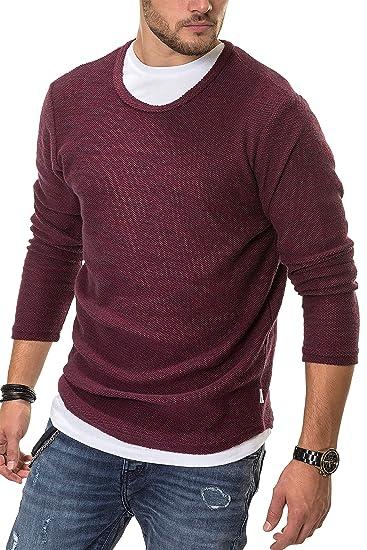 e13952fa56717 Jack   Jones Jorvisigi Sweat Crew Neck, Shirt Homme  Amazon.fr  Vêtements  et accessoires