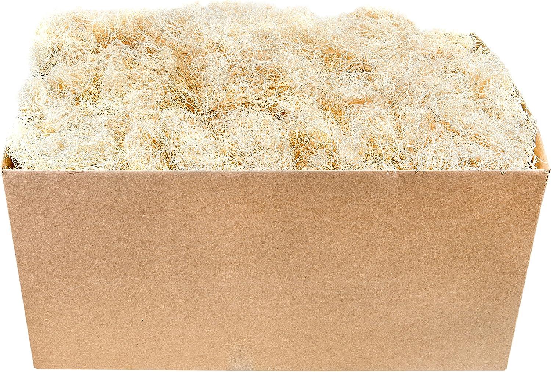Super Moss (15610) Aspen Wood Excelsior Box Bulk, 10lb, Natural