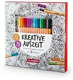 stabilo color bo te m tal de 24 crayons de couleurs fournitures de bureau. Black Bedroom Furniture Sets. Home Design Ideas