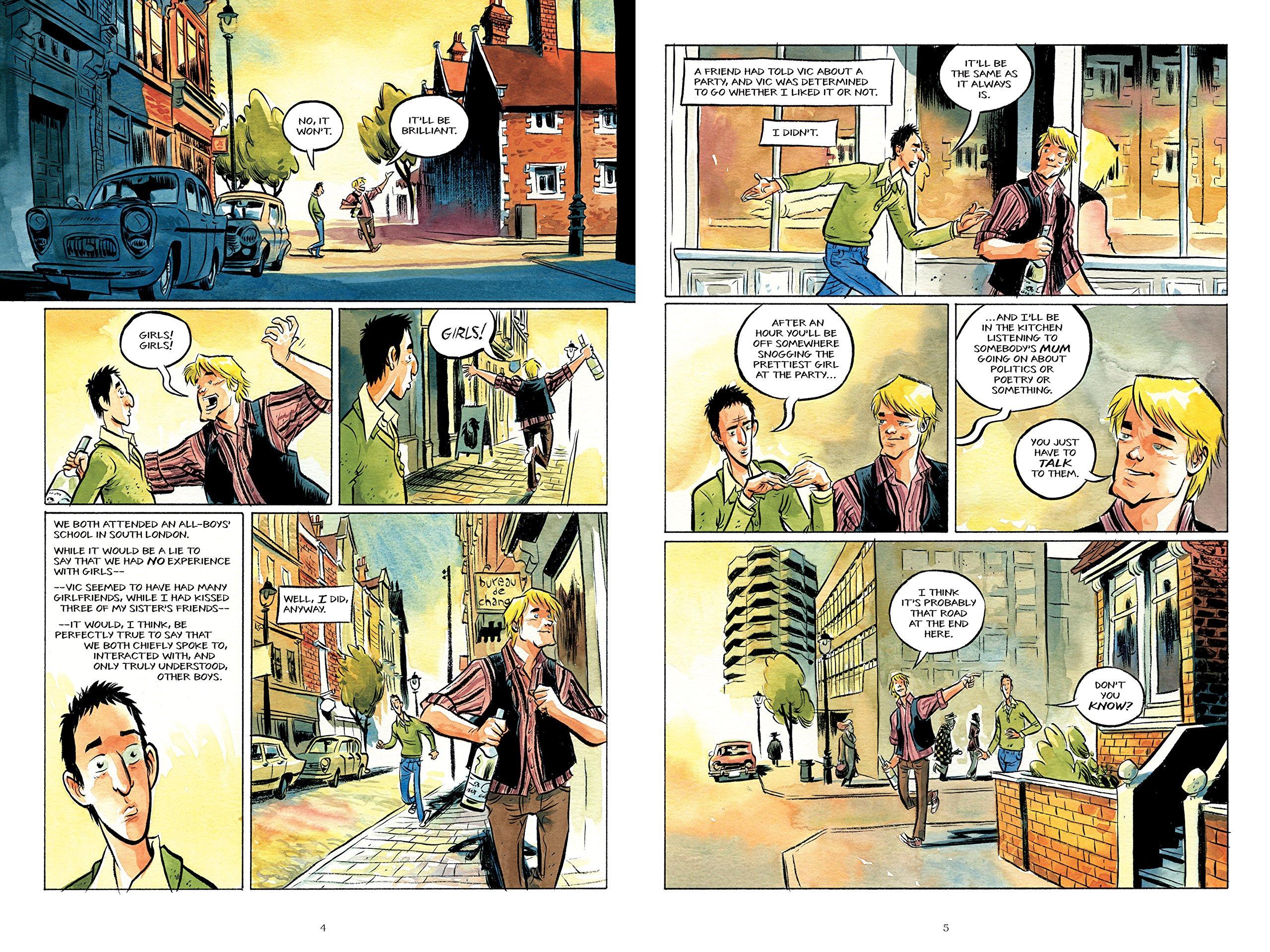 How To Talk To Girls At Parties: Amazon: Neil Gaiman, F�bio Moon,  Gabriel B�: 9781472242488: Books