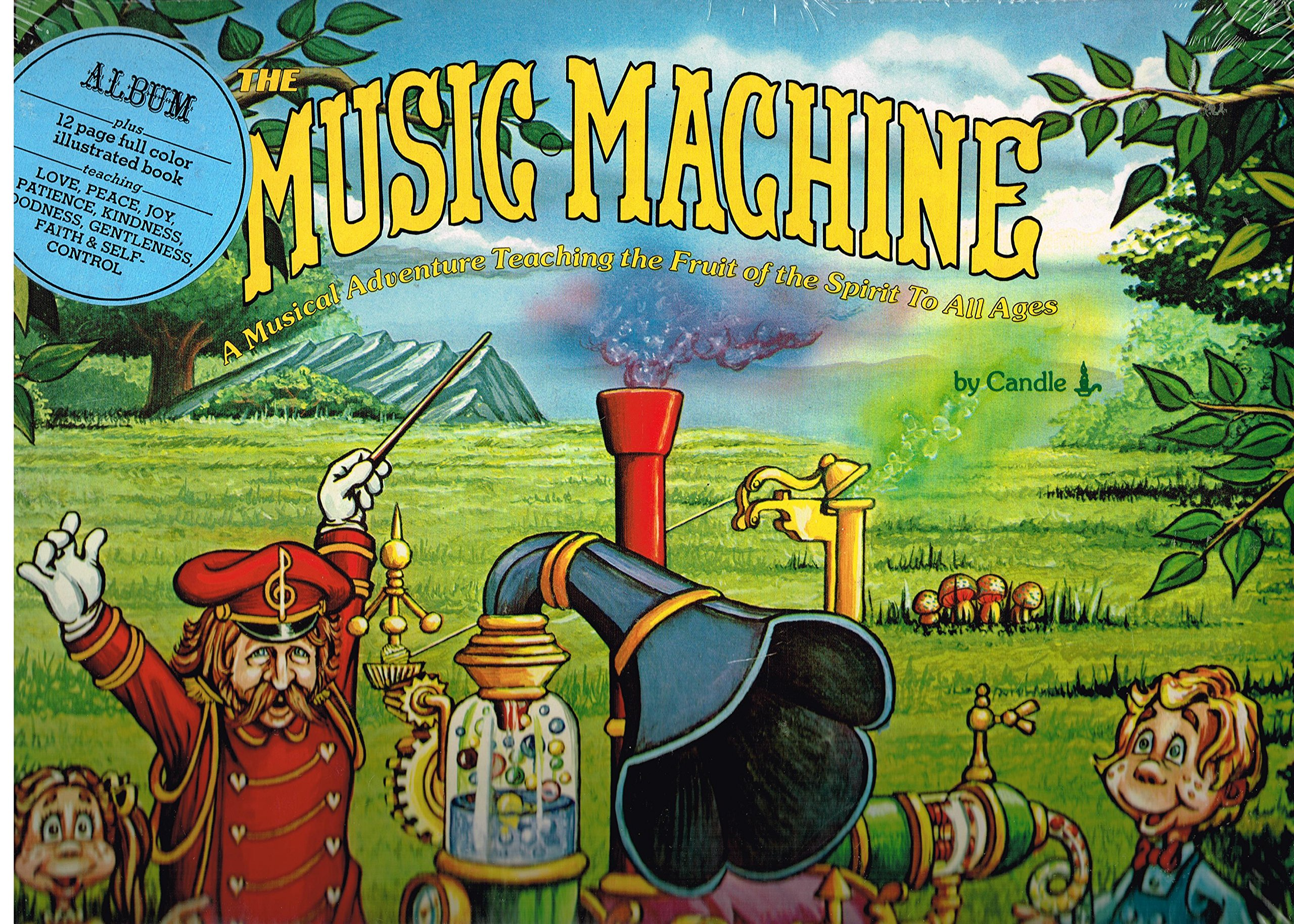 The Music Machine: A Musical Adventure, Teaching the Fruit of The Spirit to All Ages by Birdwing Records
