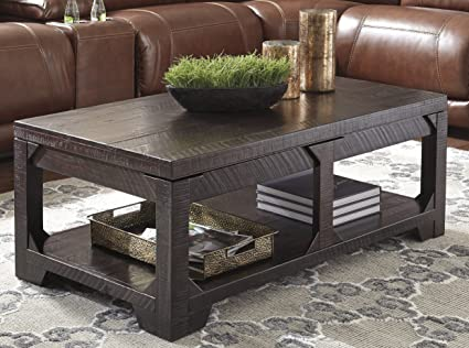 Lift Top Coffee Table Rustic 1